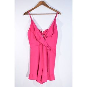 NWT Monteau Pink Frill Romper
